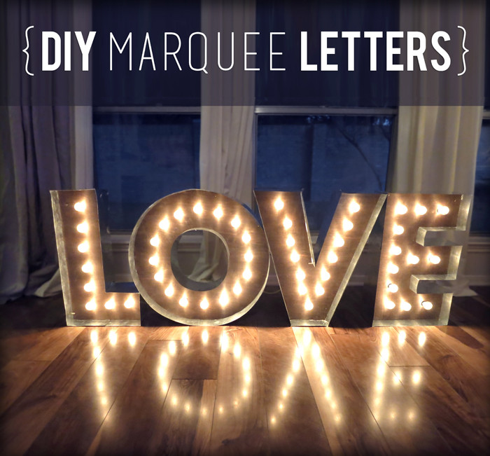 Best ideas about Light Up Letters DIY . Save or Pin DIY Wedding Inspiration Marquee Lights Now.