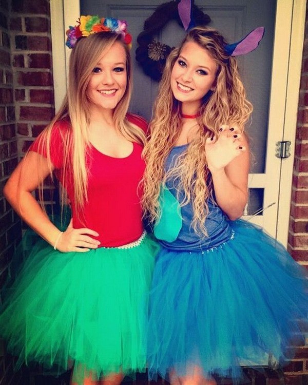 Best ideas about Lilo And Stitch Costume DIY . Save or Pin 45 Inspirational Best Friend Costume Ideas for Halloween Now.