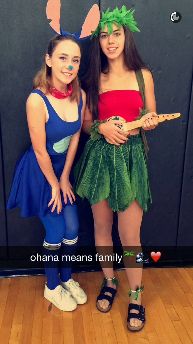 Best ideas about Lilo And Stitch Costume DIY . Save or Pin Disney Lilo and Stich DIY Halloween costumes Now.