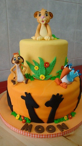 Best ideas about Lion King Birthday Cake . Save or Pin 17 Best images about Lion King Cakes on Pinterest Now.