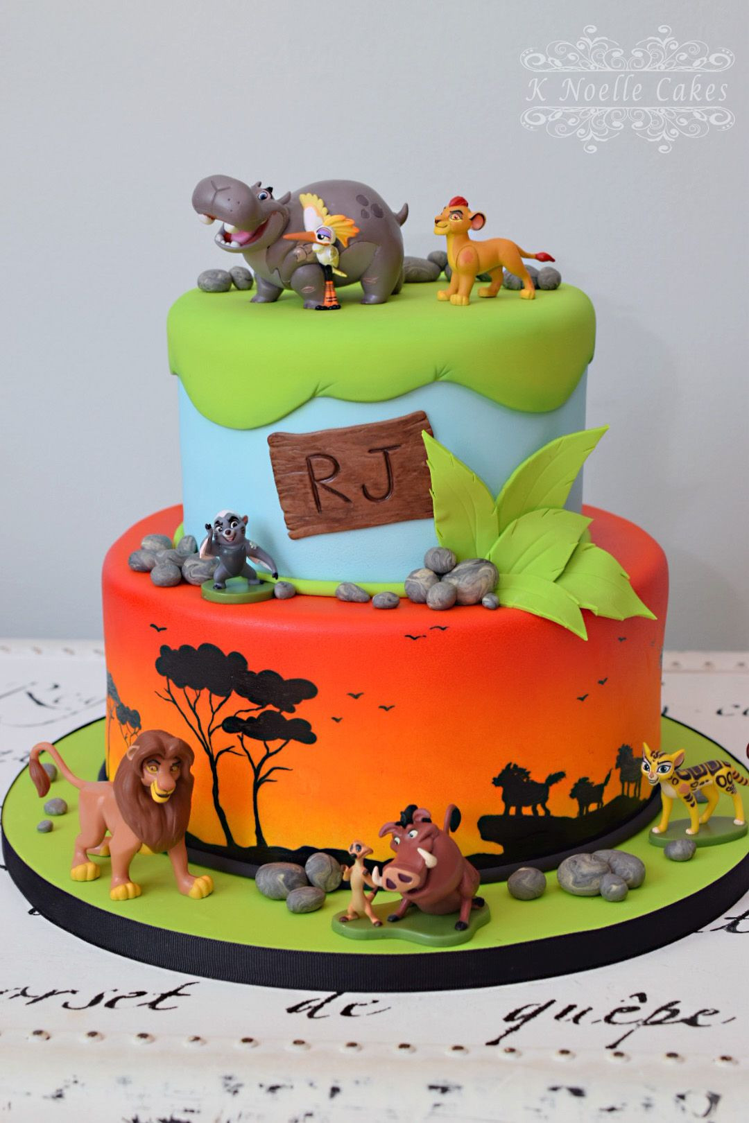 Best ideas about Lion King Birthday Cake . Save or Pin Lion Guard Lion King theme cake by K Noelle Cakes Now.