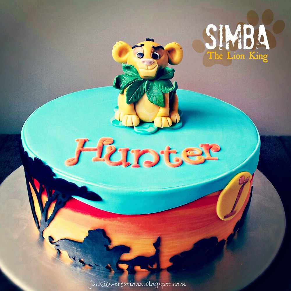 Best ideas about Lion King Birthday Cake . Save or Pin Jackie s Creations Happy 1st Birthday Hunter Now.
