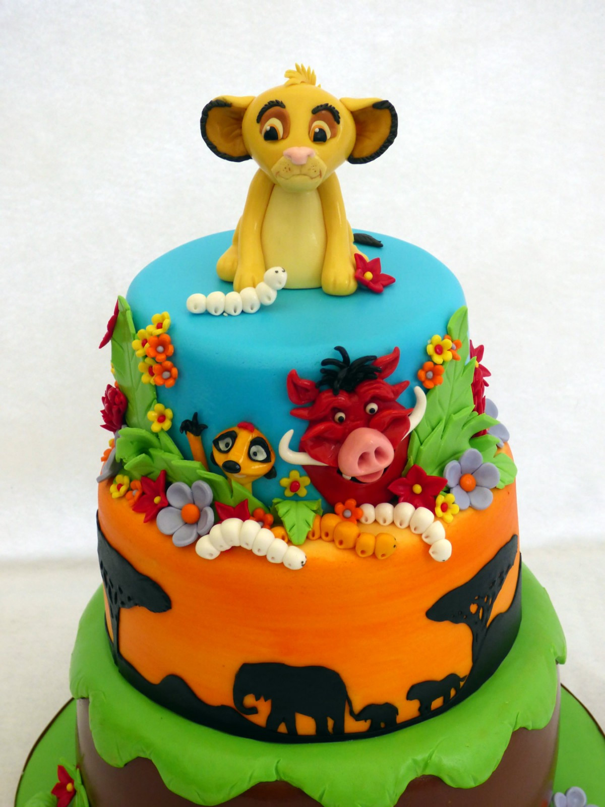 Best ideas about Lion King Birthday Cake . Save or Pin Lion King 3 Tier Birthday Cake Susie s Cakes Now.