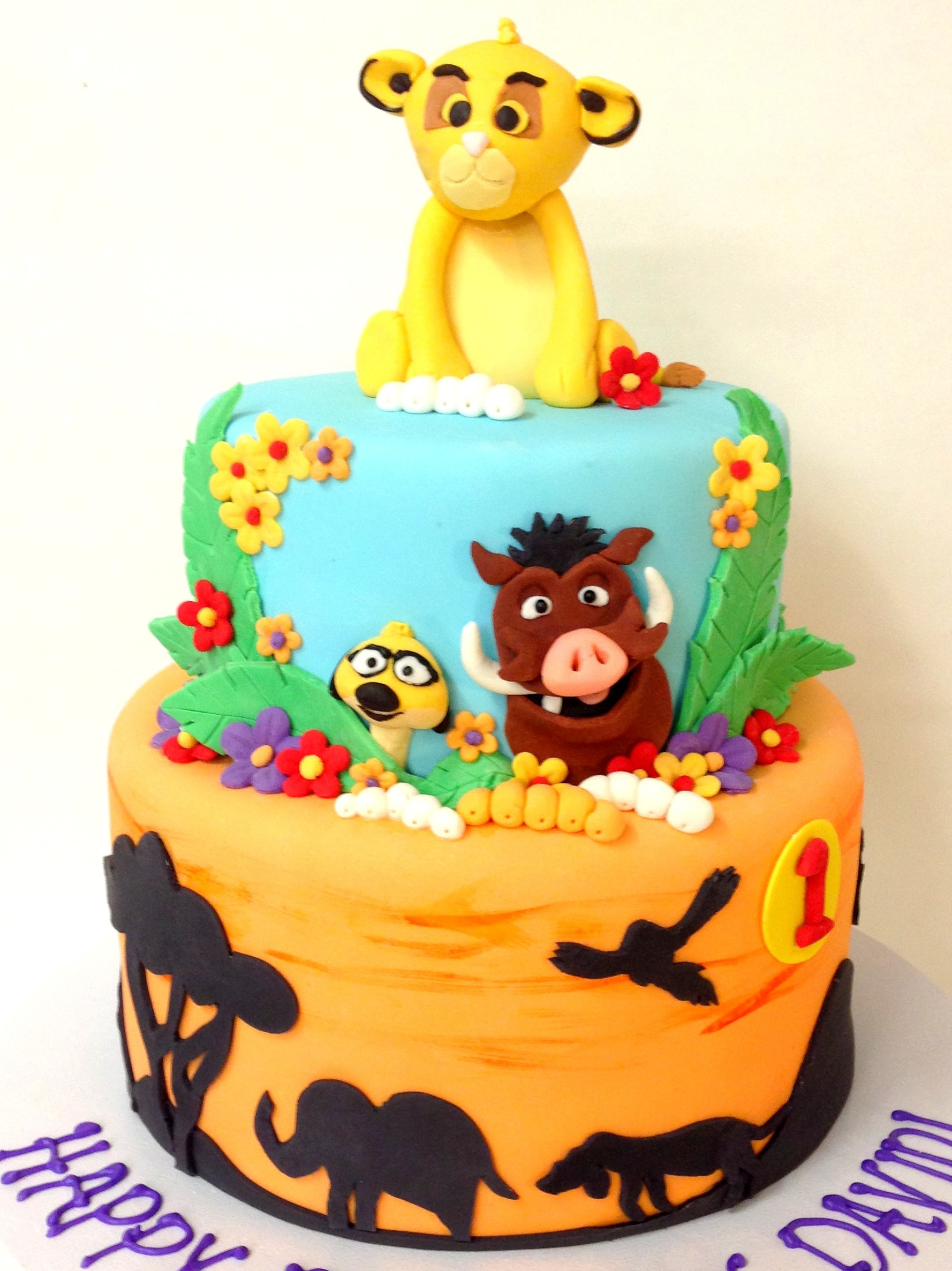 Best ideas about Lion King Birthday Cake . Save or Pin Animals & Characters Now.