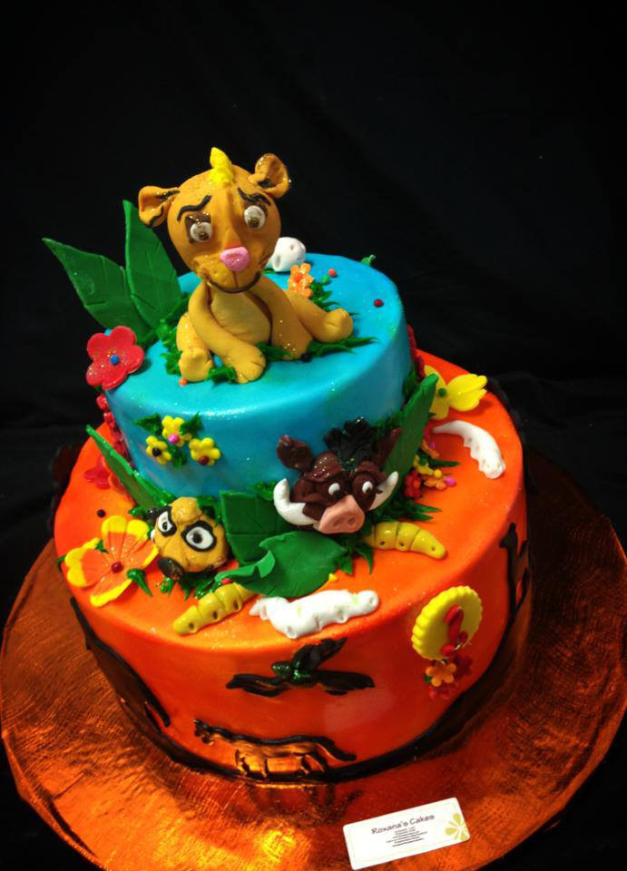 Best ideas about Lion King Birthday Cake . Save or Pin Baking with Roxana s Cakes Lion King Themed Birthday Cake Now.
