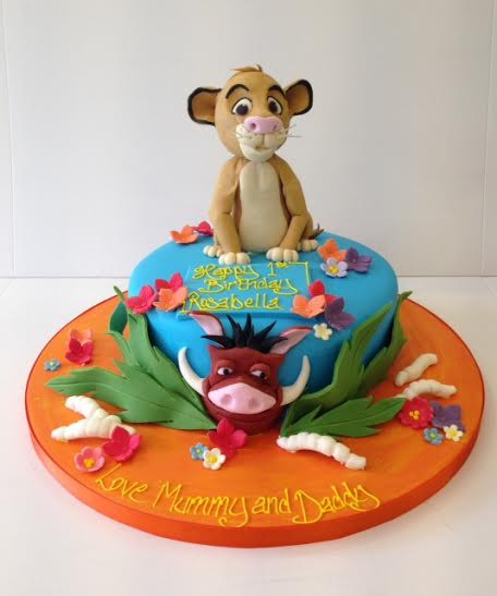 Best ideas about Lion King Birthday Cake . Save or Pin Lion King birthday cakes Cakes by Robin Now.
