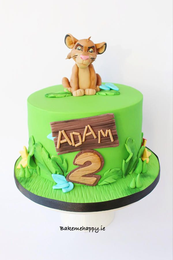 Best ideas about Lion King Birthday Cake . Save or Pin The Lion King Cake by Elaine Boyle happy Now.
