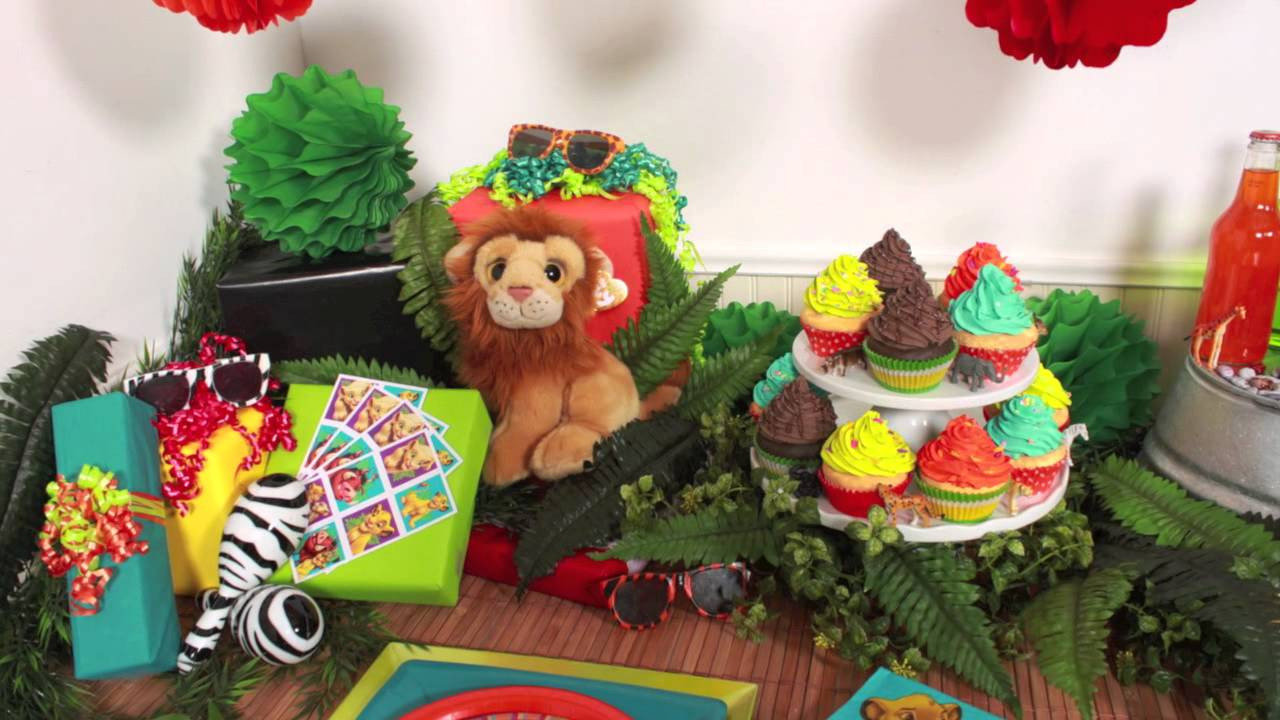 Best ideas about Lion King Birthday Decorations . Save or Pin The Lion King Party Supplies Now.