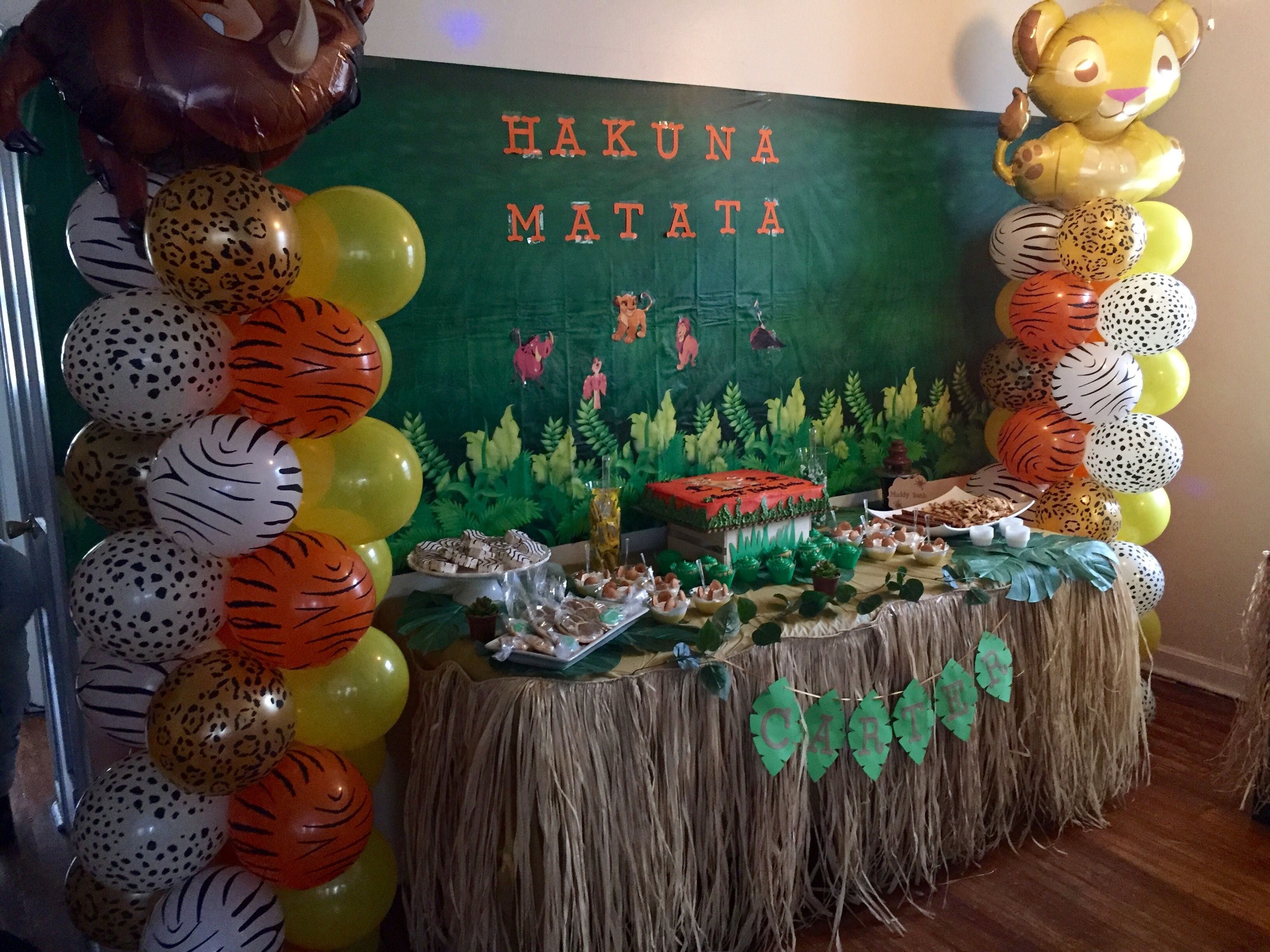 Best ideas about Lion King Birthday Decorations . Save or Pin The lion king s first birthday party candy table idea Now.