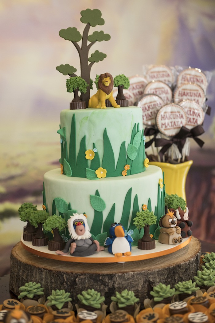 Best ideas about Lion King Birthday Decorations . Save or Pin Kara s Party Ideas Lion King Birthday Party Now.