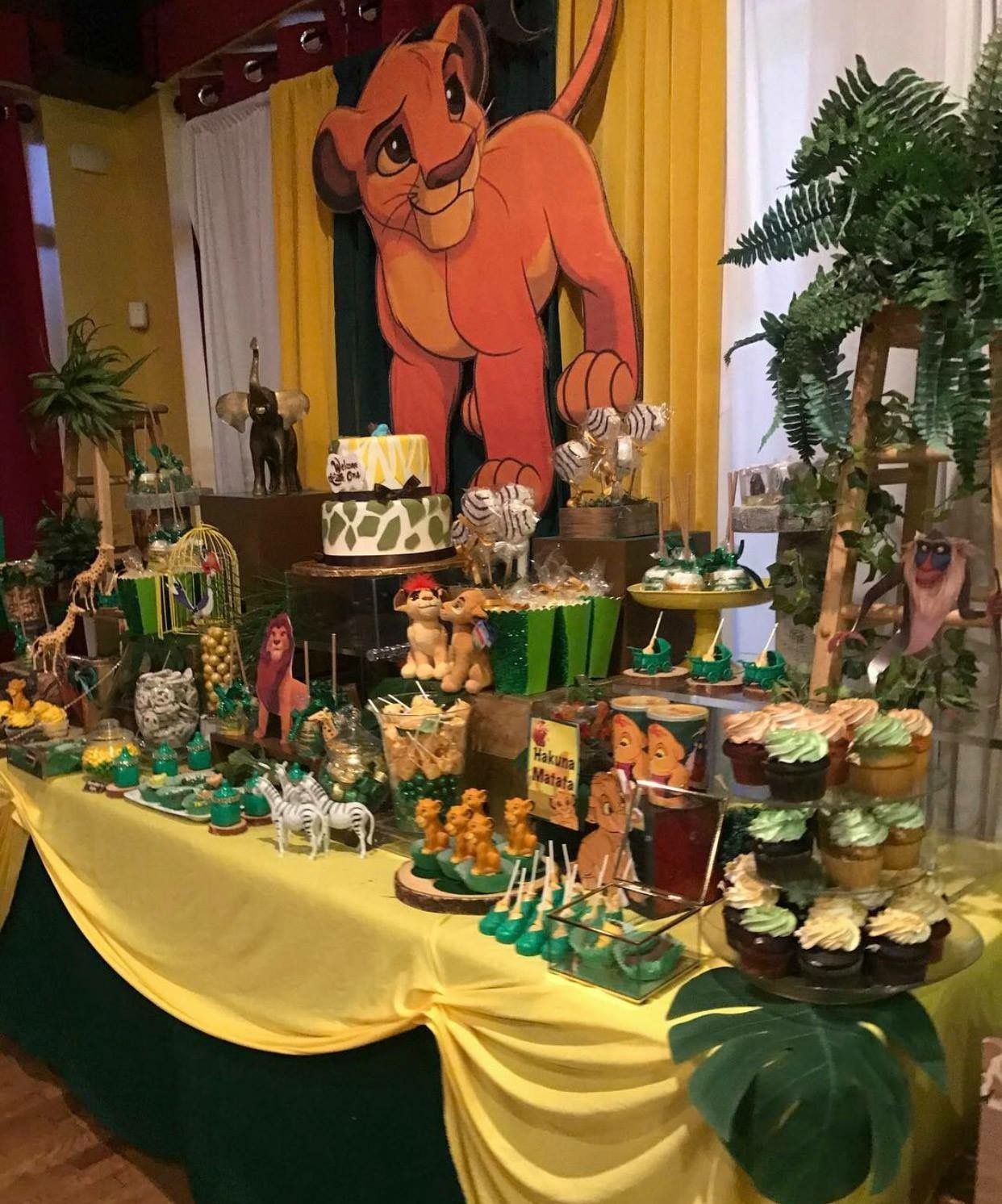 Best ideas about Lion King Birthday Decorations . Save or Pin Pin by Elegant on Lion king party Now.