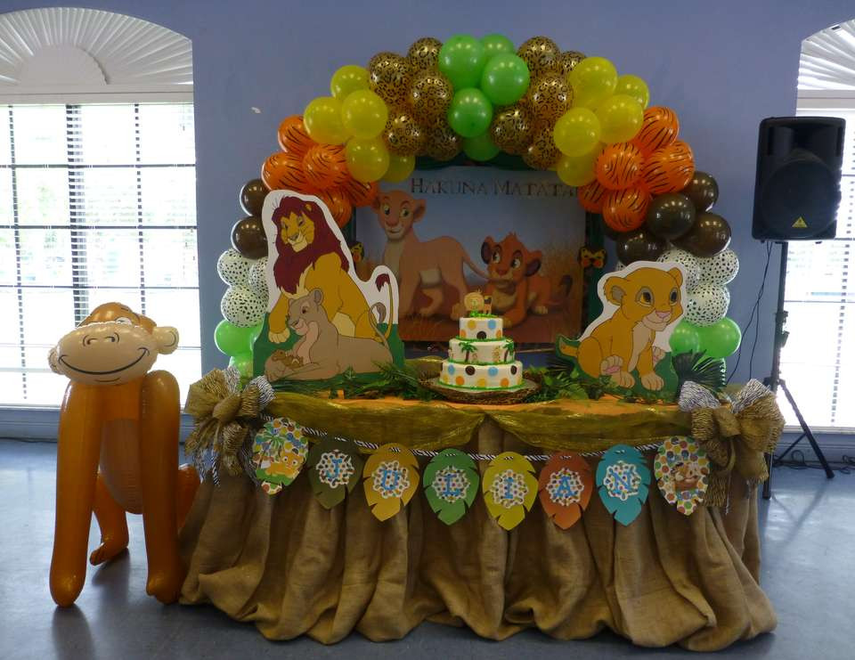 "Best ideas about Lion King Birthday Decorations . Save or Pin Baby Lion King Baby Shower ""Baby Lion King"" Now."