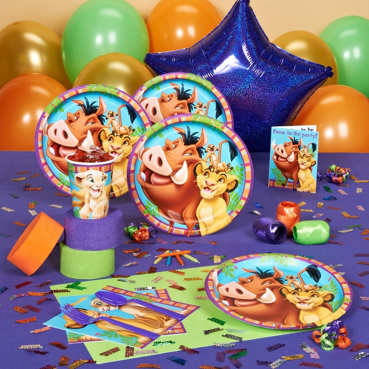 Best ideas about Lion King Birthday Decorations . Save or Pin Lion King party supplies party ideas Now.