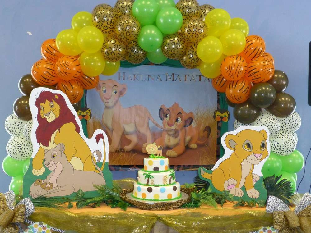 Best ideas about Lion King Birthday Decorations . Save or Pin Baby Lion King Baby Shower Party Ideas Now.