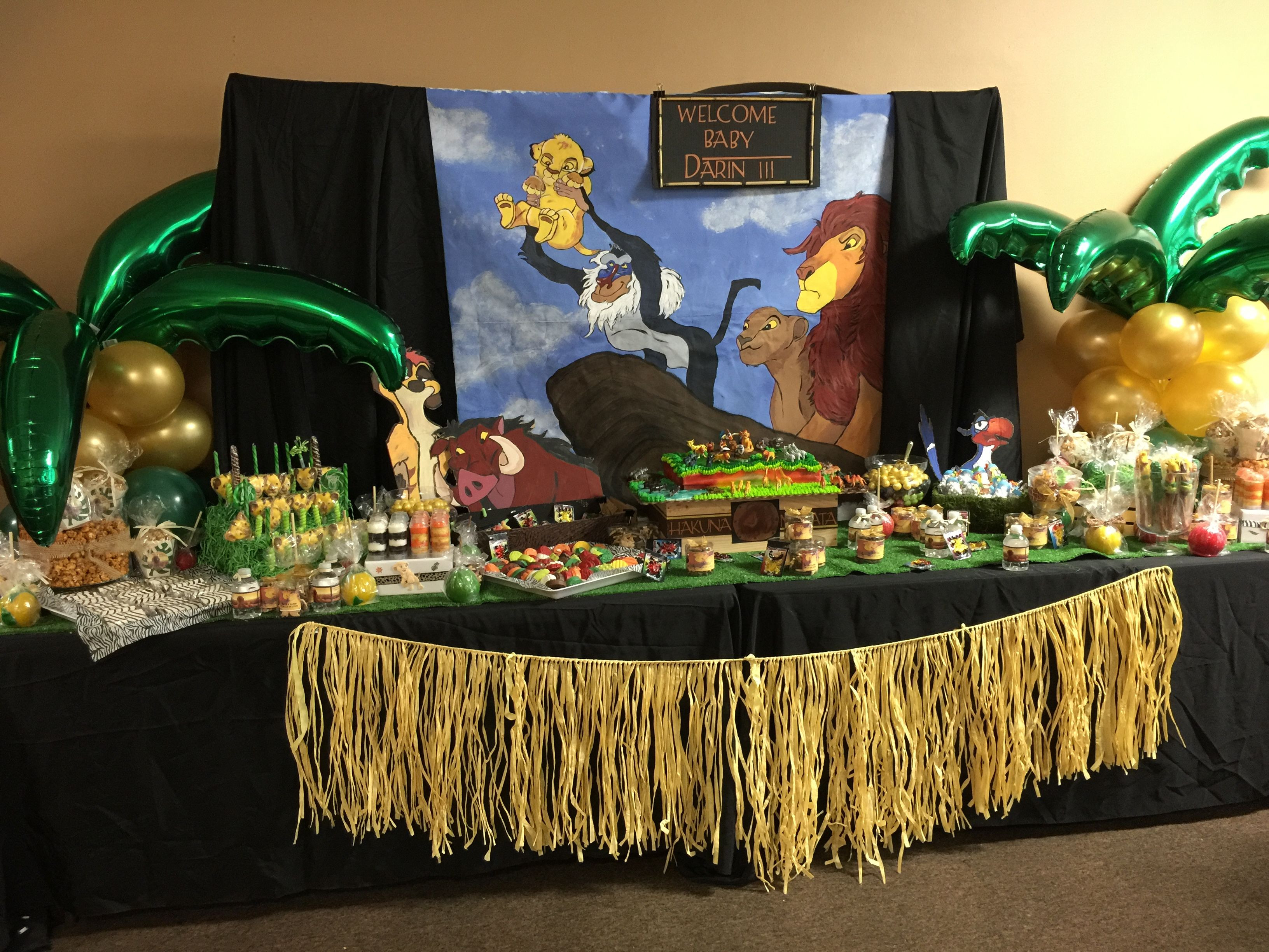 Best ideas about Lion King Birthday Party . Save or Pin Lion King Candy Table Events 2 Envy in 2019 Now.