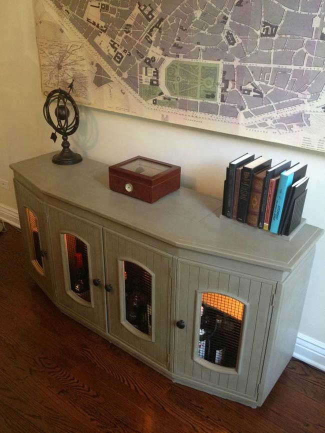 Best ideas about Liquor Cabinet DIY . Save or Pin A DIY Liqour Cabinet Perfect For Hiding Your Booze Now.
