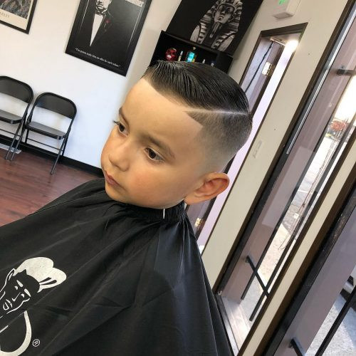 Best ideas about Little Boys Fade Haircuts 2019 . Save or Pin 31 Cutest Boys Haircuts for 2018 Fades Pomps Lines & More Now.