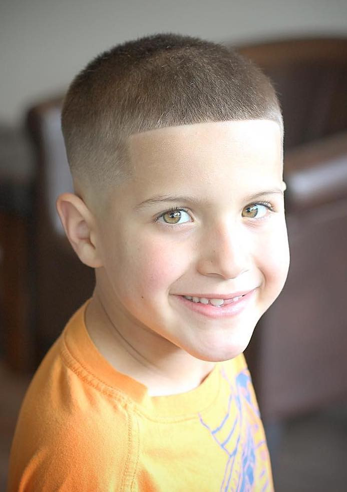 Best ideas about Little Boys Fade Haircuts 2019 . Save or Pin 50 Cool Haircuts for Kids for 2019 Now.