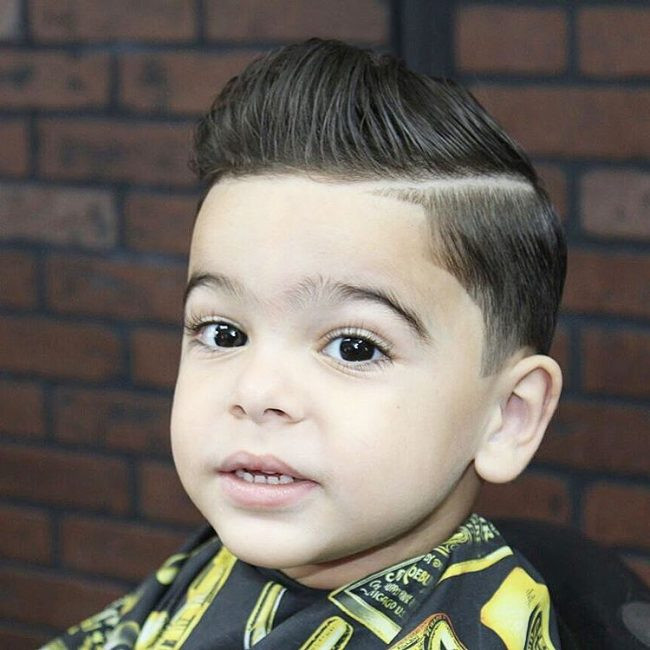 Best ideas about Little Boys Hair Cut . Save or Pin 70 Popular Little Boy Haircuts [Add Charm in 2019] Now.