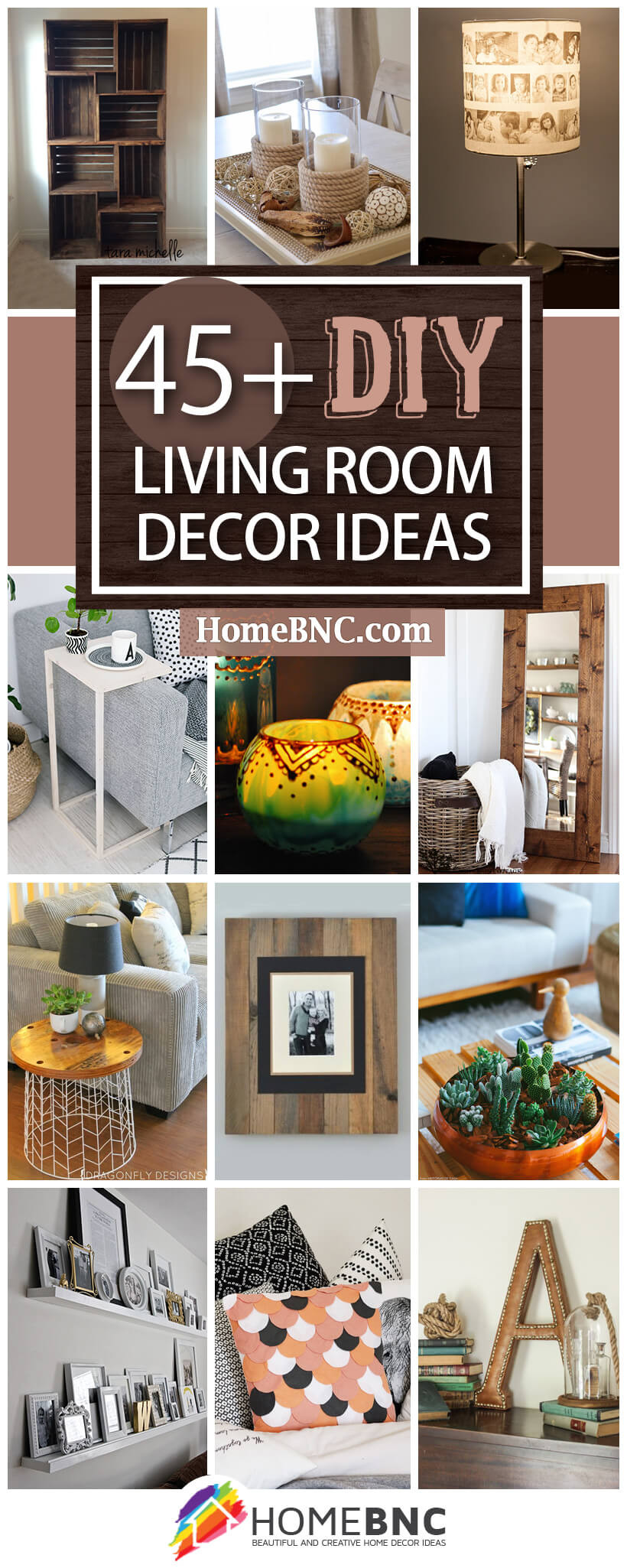 Best ideas about Living Room Decorations DIY . Save or Pin 45 Best DIY Living Room Decorating Ideas and Designs for 2019 Now.