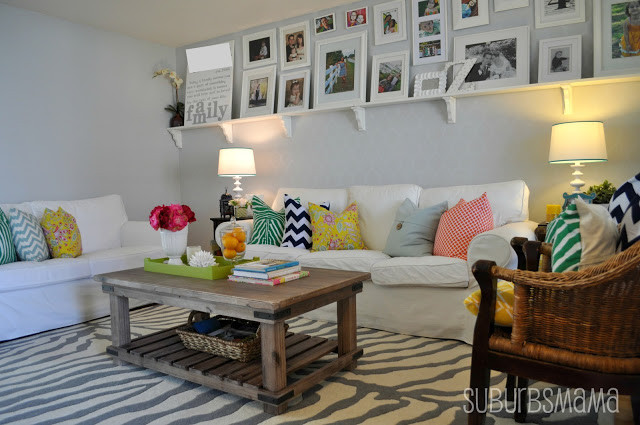 Best ideas about Living Room Decorations DIY . Save or Pin 15 diy ideas to refresh your living room 8 Diy & Crafts Now.