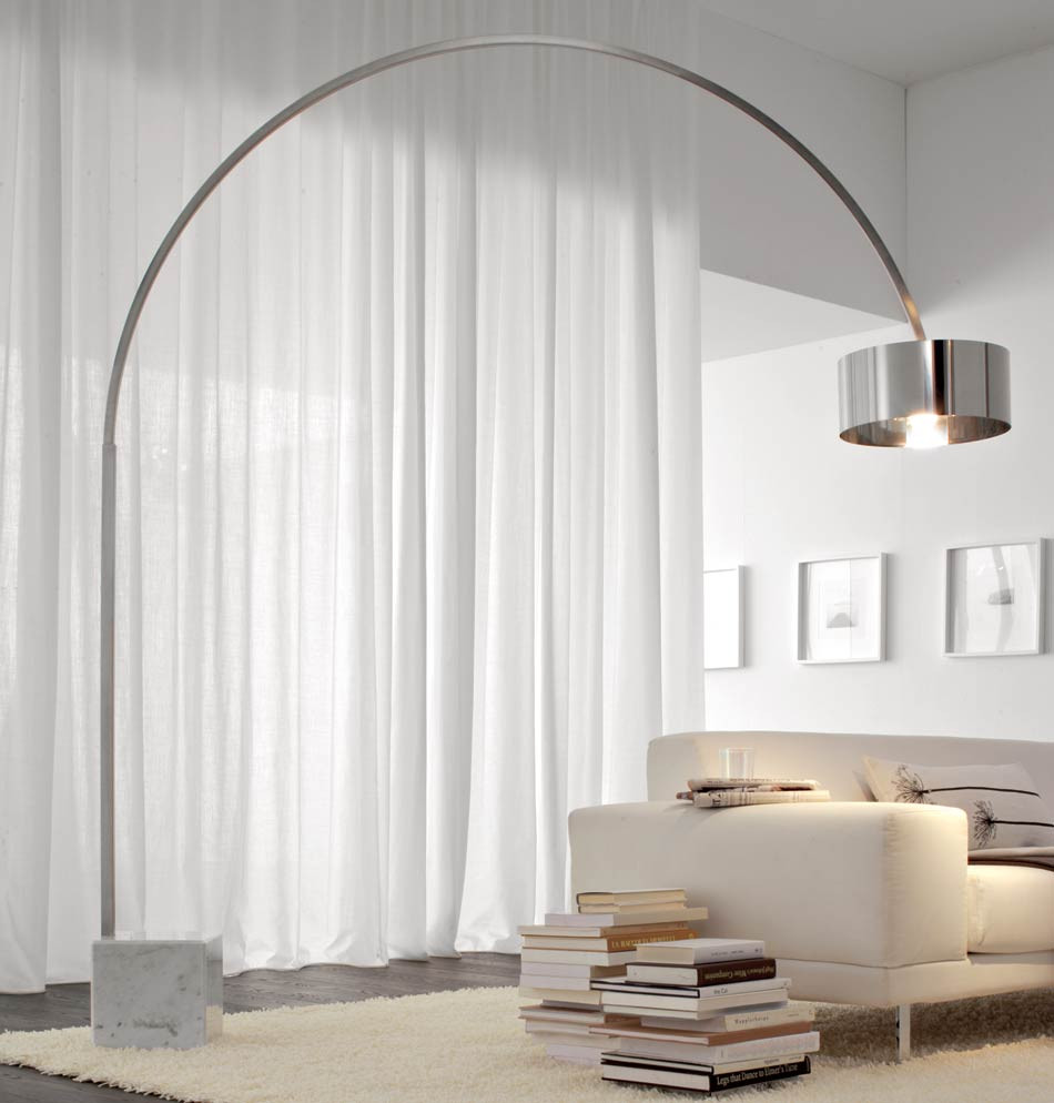 Best ideas about Living Room Lamps . Save or Pin 8 Contemporary Arc Floor Lamp Designs as a perfect Now.