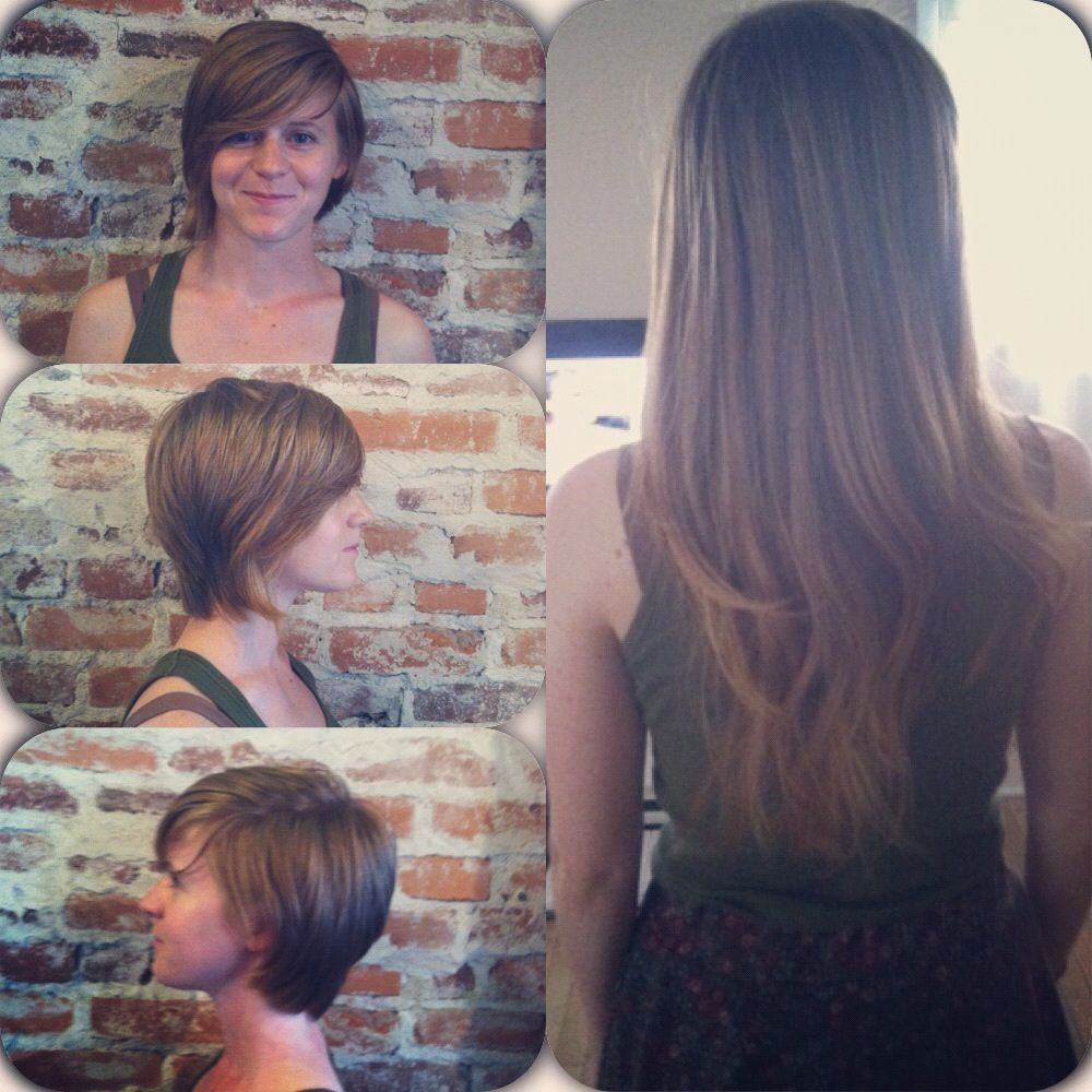 Best ideas about Locks Of Love Free Hair Cut . Save or Pin Before and after Locks of love donation Now.