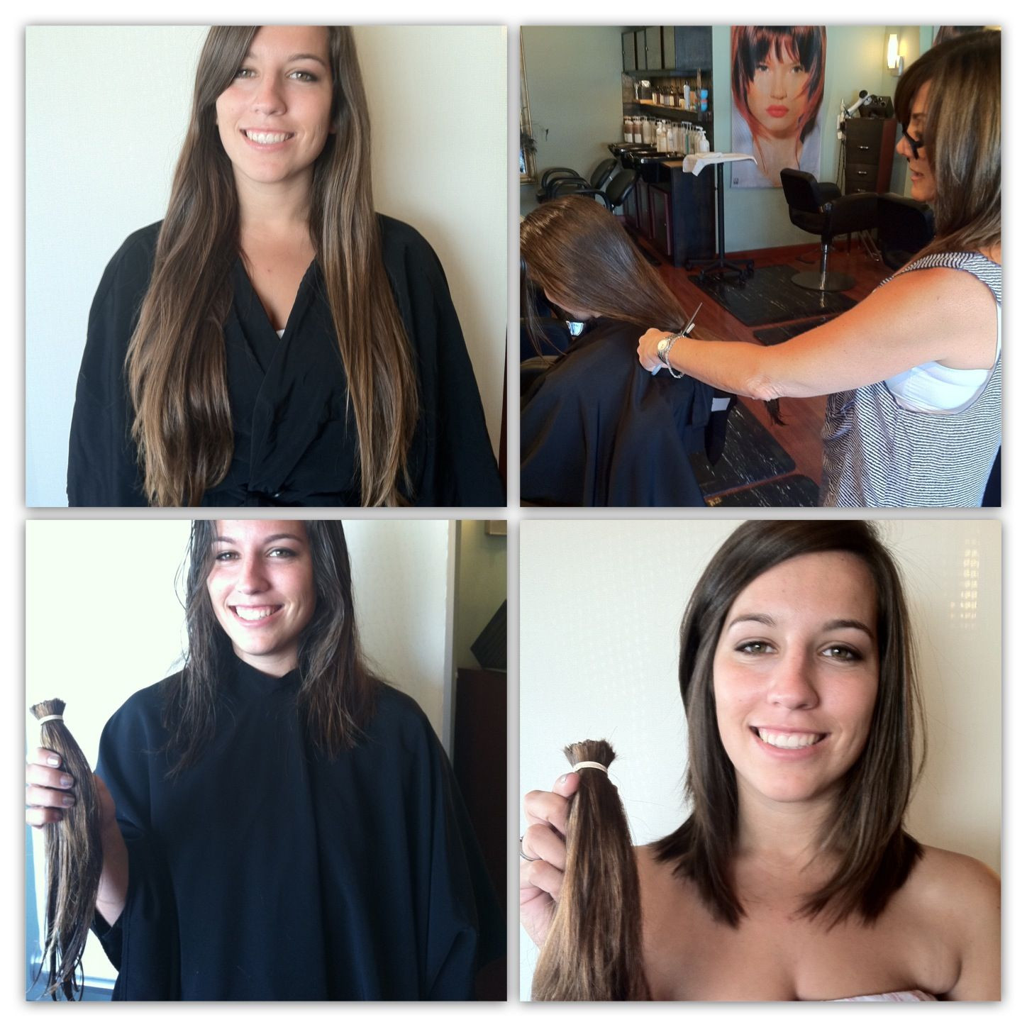 Best ideas about Locks Of Love Free Hair Cut . Save or Pin Locks of LOVE BEFORE & AFTER Pinterest Now.