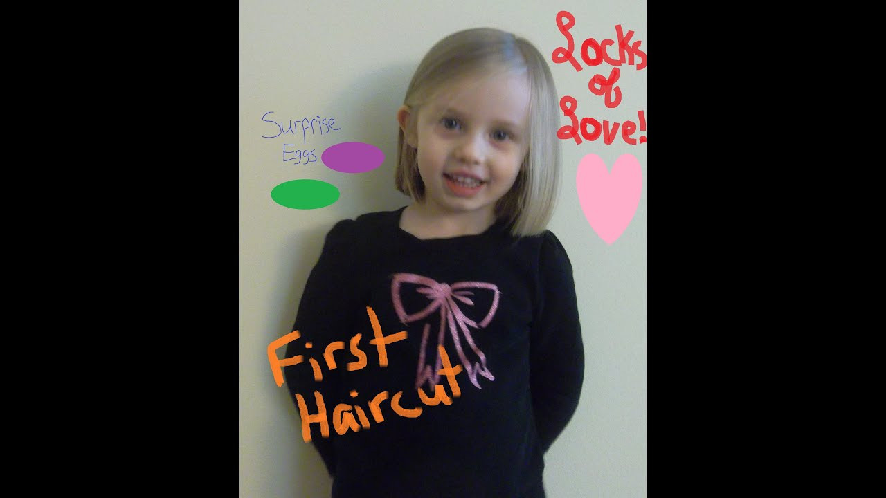 Best ideas about Locks Of Love Free Hair Cut . Save or Pin First Haircut LOCKS OF LOVE Surprise eggs Anna Kristoff Now.