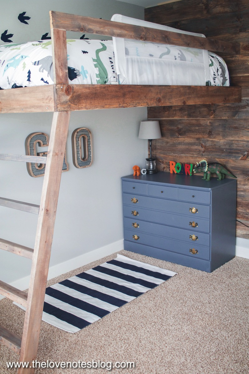 Best ideas about Lofted Bed DIY . Save or Pin DIY Loft Bed – The Love Notes Blog Now.
