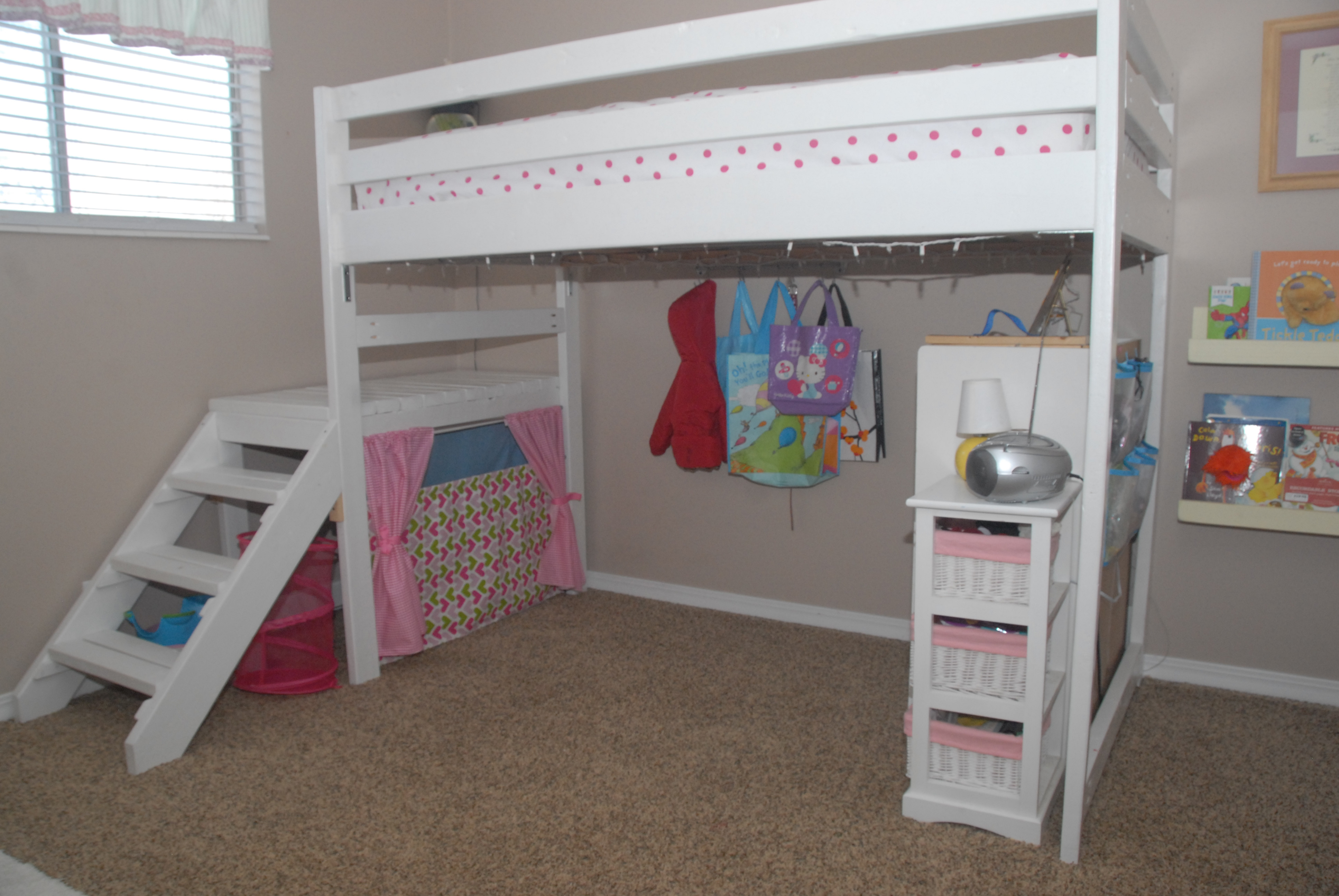 Best ideas about Lofted Bed DIY . Save or Pin DIY Twin Loft Bed r under $100 Now.