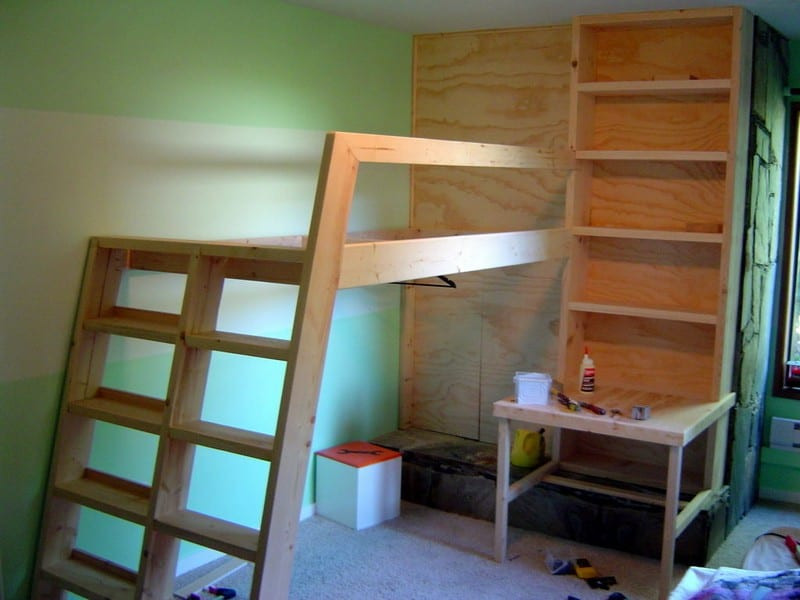 Best ideas about Lofted Bed DIY . Save or Pin DIY Loft Bed Now.