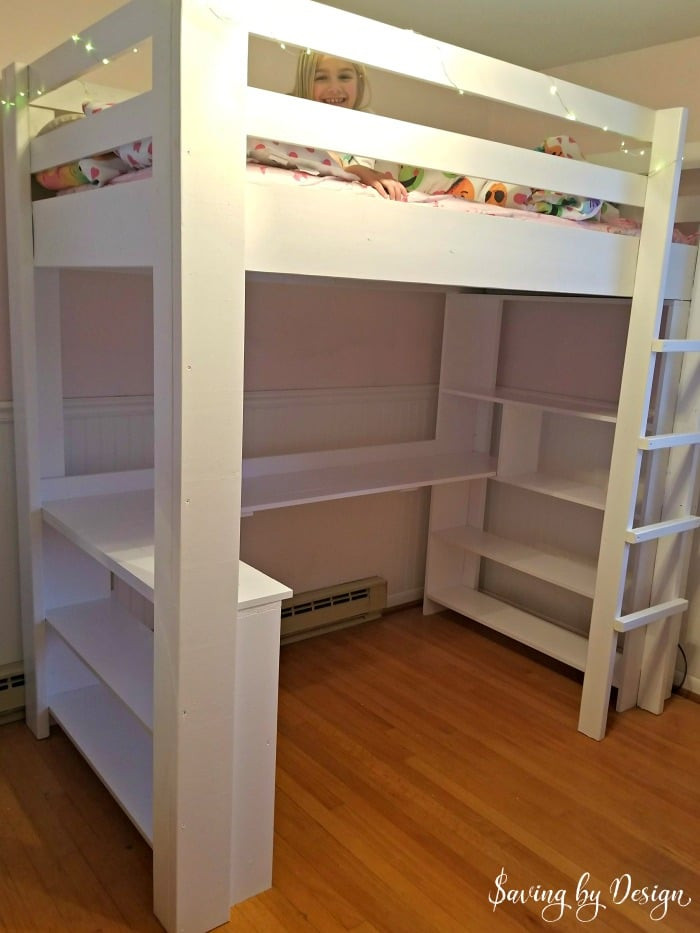Best ideas about Lofted Bed DIY . Save or Pin How to Build a Loft Bed with Desk and Storage Now.