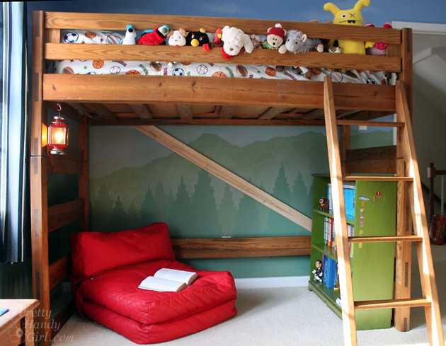 Best ideas about Lofted Bed DIY . Save or Pin Remodelaholic Now.