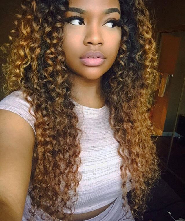 Best ideas about Long Curly Weave Hairstyles . Save or Pin Pinterest 77imnotbait Now.