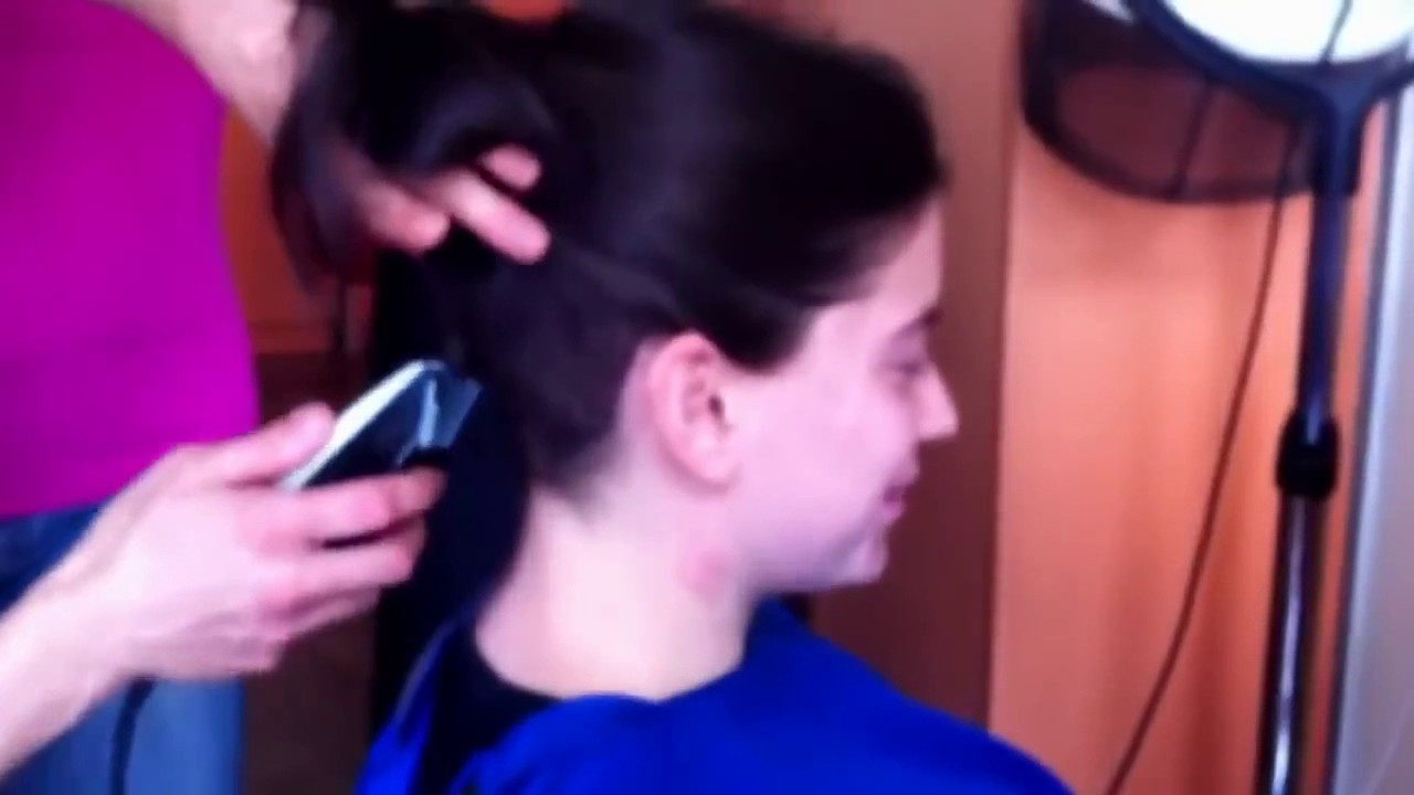 Best ideas about Long Hair To Buzz Cut . Save or Pin Most beautiful buzz cut ever from long hair to bald Now.
