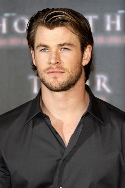Best ideas about Longish Mens Hairstyles . Save or Pin Chris Hemsworth celebrities hairstyle Now.