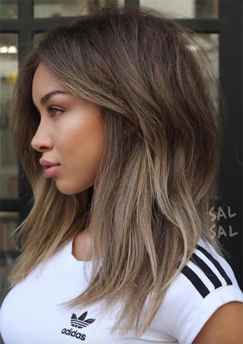 Best ideas about Lots More Female Hairstyles . Save or Pin 51 Medium Hairstyles & Shoulder Length Haircuts for Women Now.