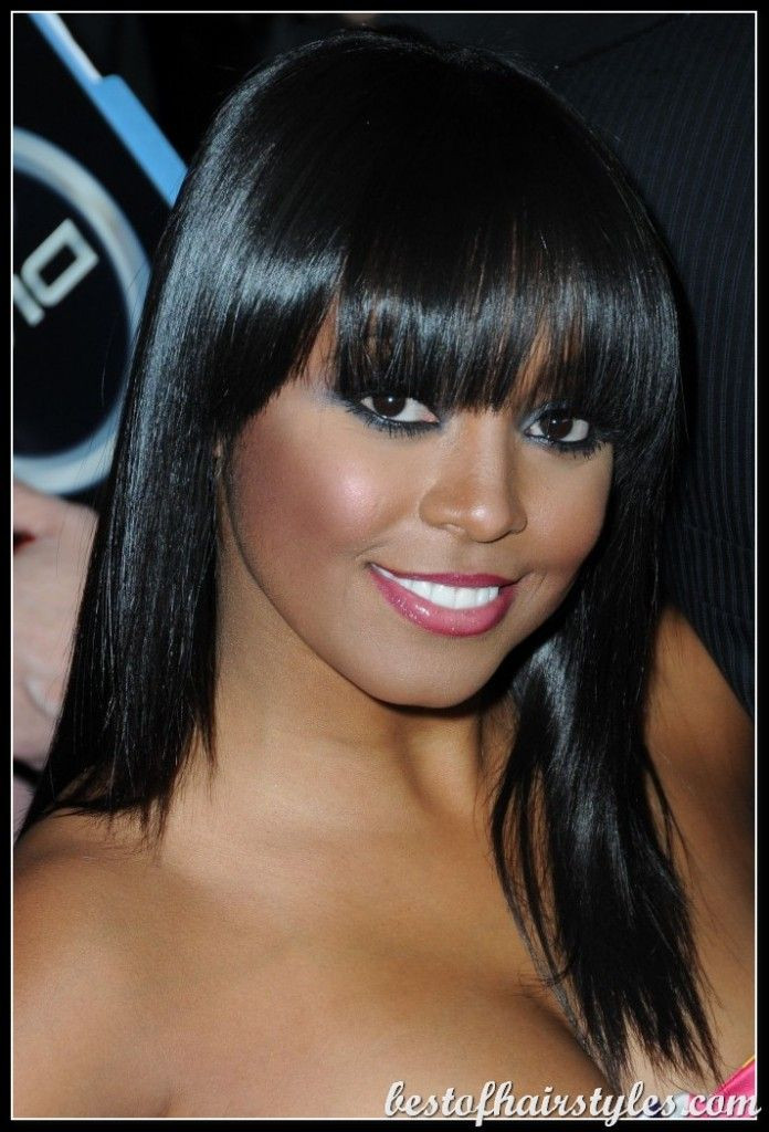 Best ideas about Lots More Female Hairstyles . Save or Pin Black Women Hairstyles with Bangs Find lots of fabulous Now.