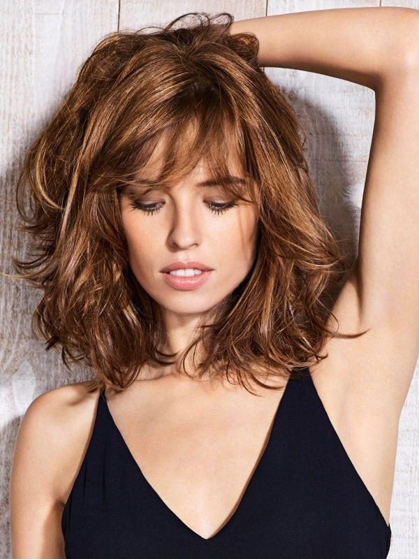 Best ideas about Lots More Female Hairstyles . Save or Pin Lots of texture and layers avedaibw Now.