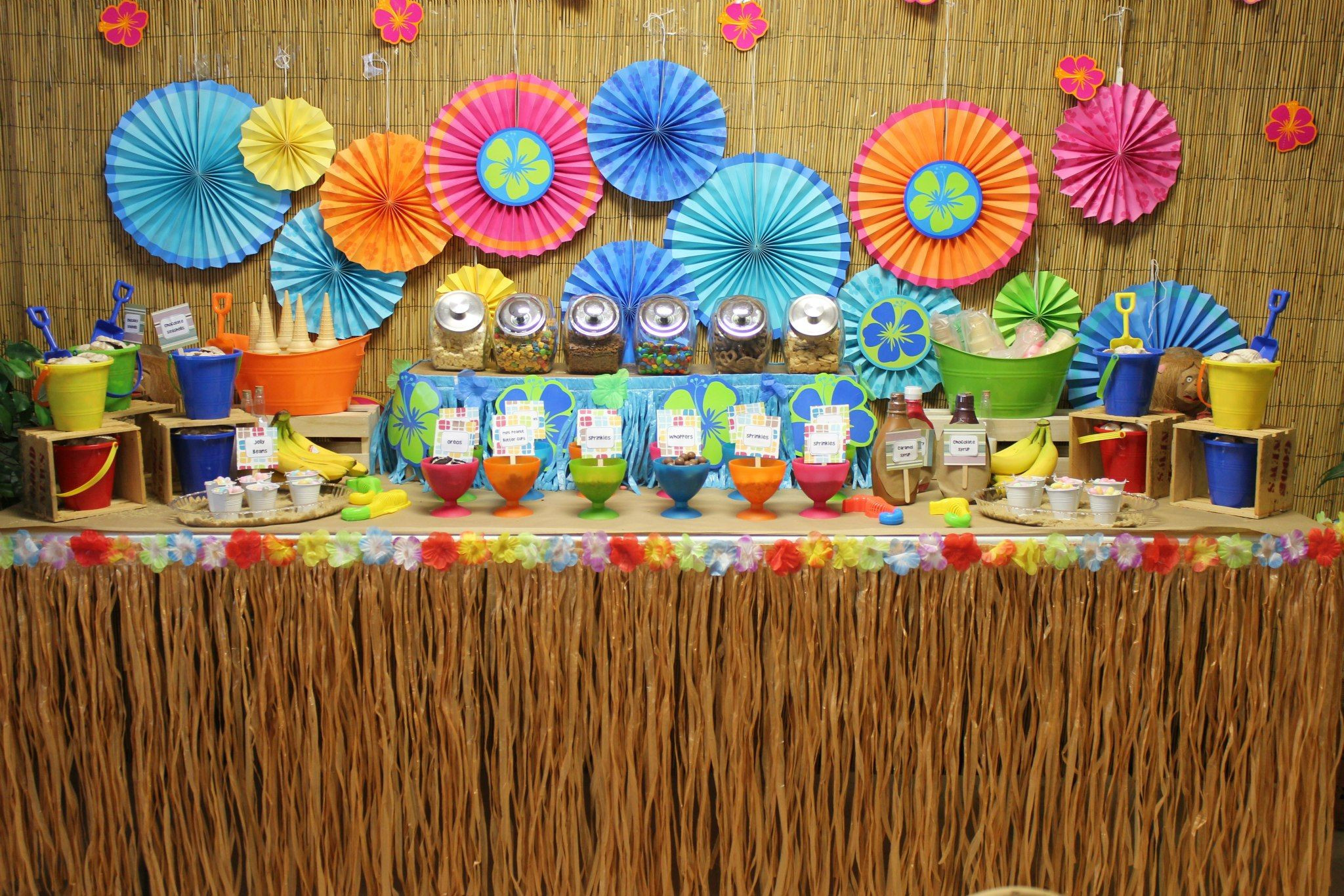 Best ideas about Luau Birthday Party Ideas . Save or Pin Best 25 Luau party centerpieces ideas on Pinterest Now.