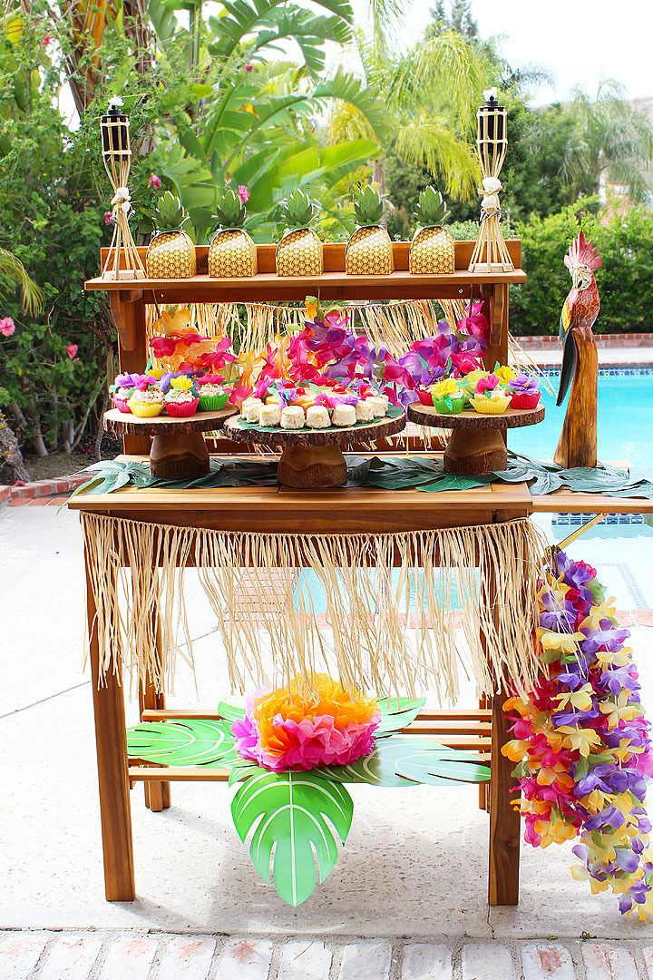 Best ideas about Luau Birthday Party Ideas . Save or Pin 124 best Tropical Luau Sweet 16 Ideas images on Pinterest Now.