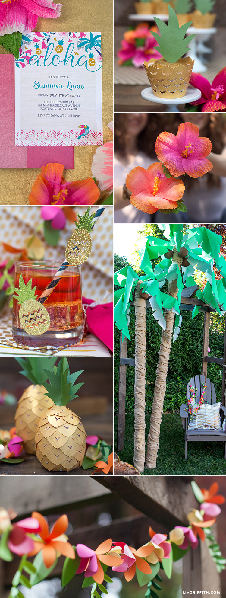Best ideas about Luau Birthday Party Ideas . Save or Pin Luau Party Ideas Lia Griffith Now.