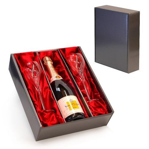 Best ideas about Luxury Birthday Gifts For Her . Save or Pin Veuve Clicquot Rose Champagne with 2 Branded Flutes in a Now.