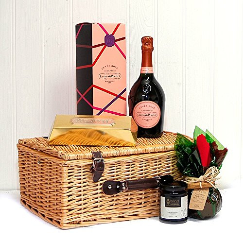 Best ideas about Luxury Birthday Gifts For Her . Save or Pin Laurent Perrier Rose Champagne La s Indulgence Hamper Now.