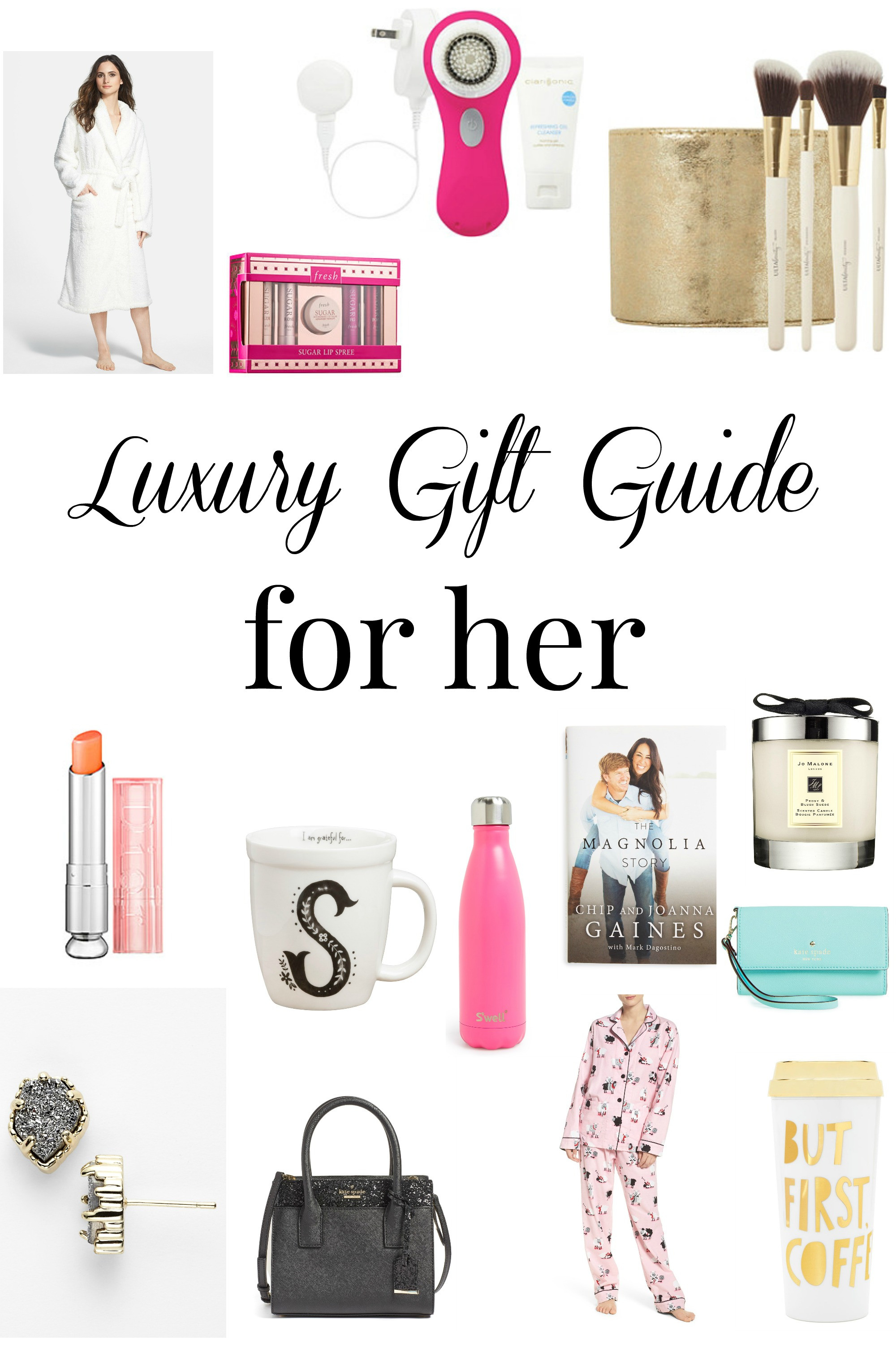Best ideas about Luxury Gift Ideas For Her . Save or Pin Luxury Gift Guide for Her Daily Dose of Style Now.