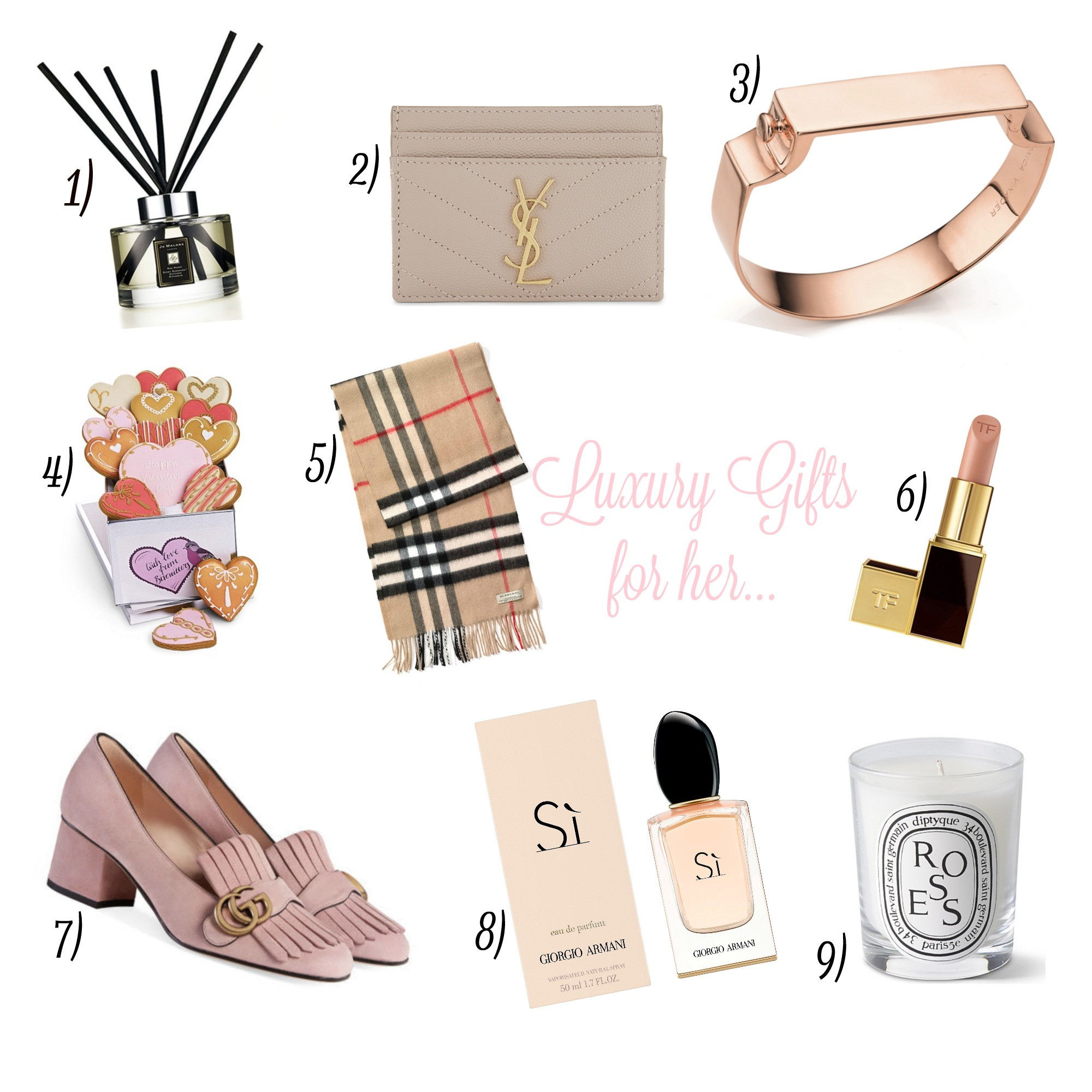 Best ideas about Luxury Gift Ideas For Her . Save or Pin Luxury Valentine s Gifts For Her Jordan s Beautiful Life Now.