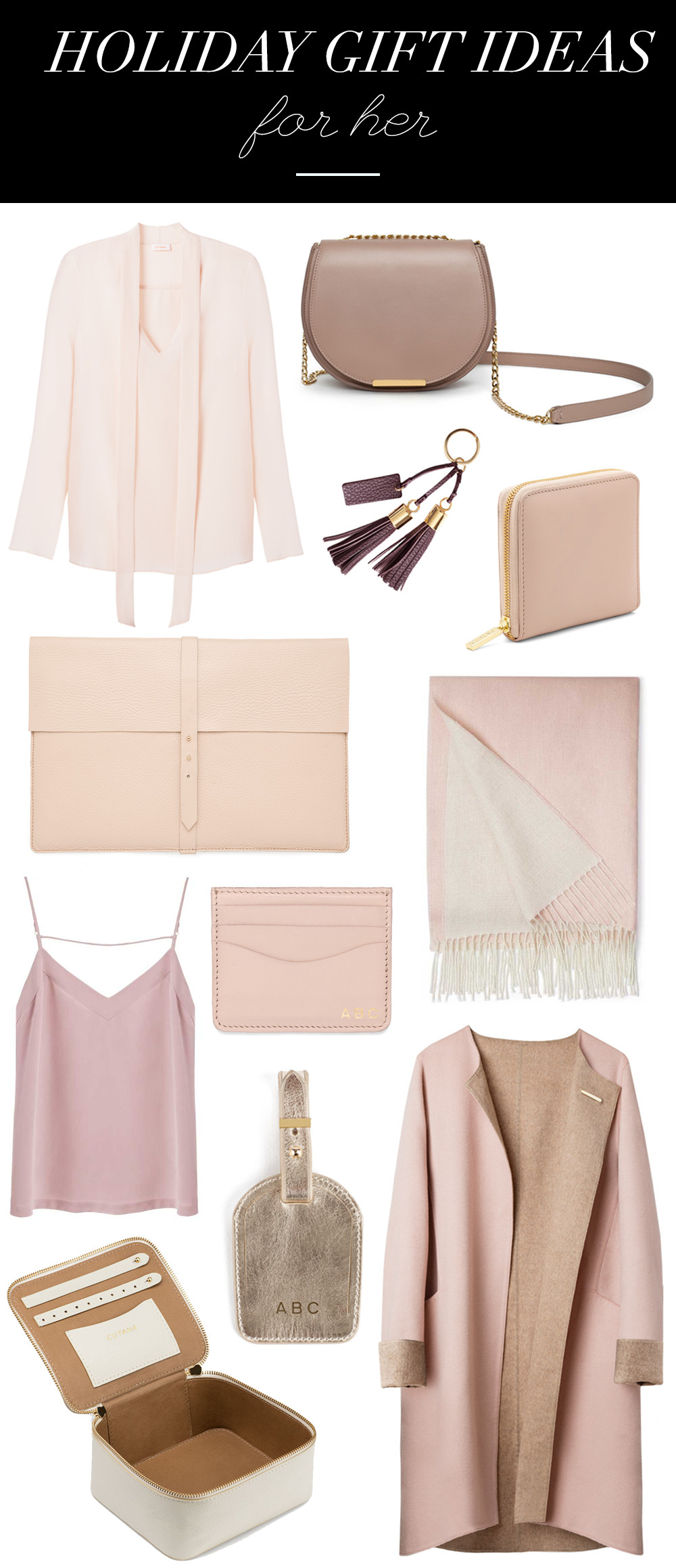 Best ideas about Luxury Gift Ideas For Her . Save or Pin 12 Days of Giving Cuyana Gift Guide Now.