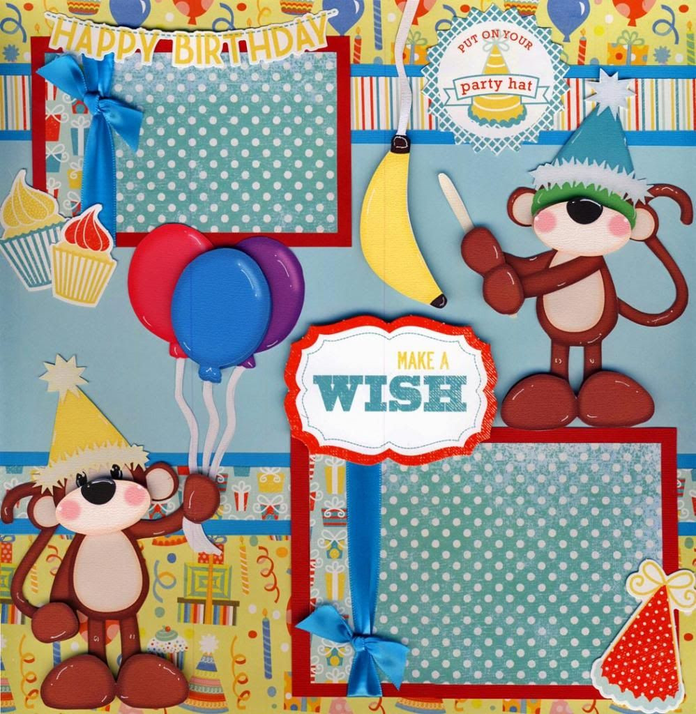 Best ideas about Make A Wish Birthday . Save or Pin MAKE A WISH birthday 2 Premade Scrapbook Pages FAMILY Now.