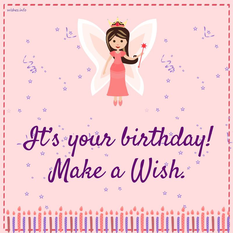 Best ideas about Make A Wish Birthday . Save or Pin Wishes and Greetings Its your birthday make a wish Now.